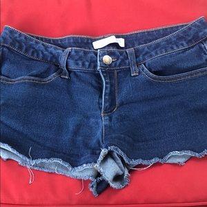 {No Boundaries 13} Blue Jean Shorts